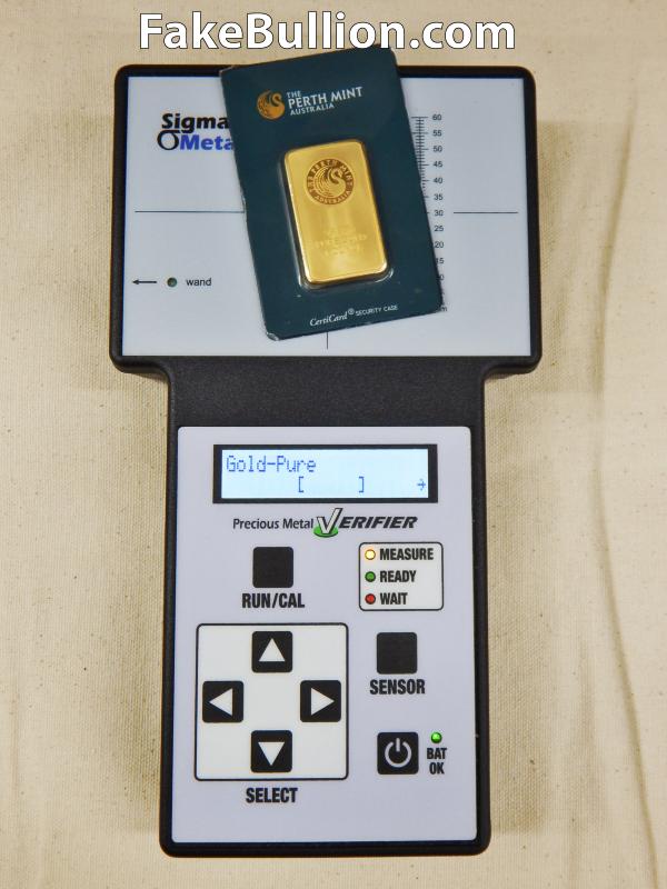 PMV Testing Counterfeit Perth Bar