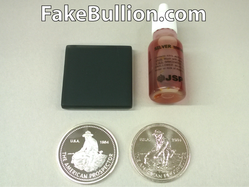 silver testing solution