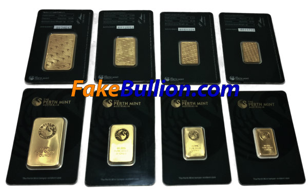 Counterfeit Perth Gold Bars