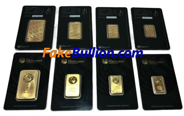 Counterfeit Perth Gold Bars